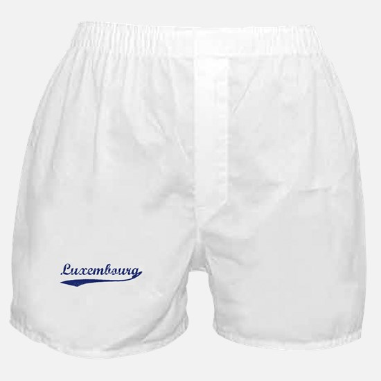 Blue Vintage: Luxembourg Boxer Shorts