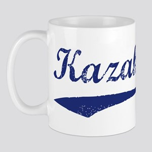 Blue Vintage: Kazakstan Mug