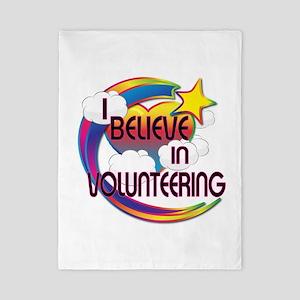 I Believe In Volunteering Cute Believer Design Twi