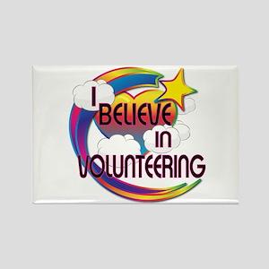 I Believe In Volunteering Cute Believer Design Rec