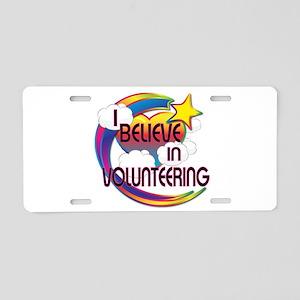 I Believe In Volunteering Cute Believer Design Alu