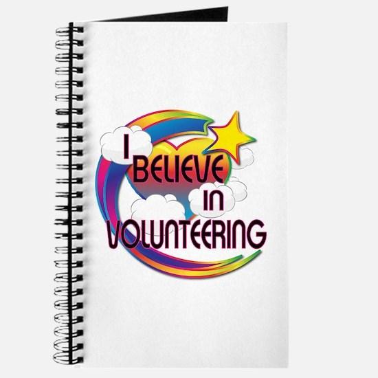 I Believe In Volunteering Cute Believer Design Jou