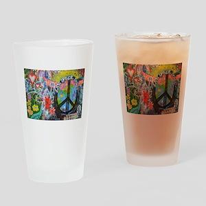 Graffiti in Prague Drinking Glass
