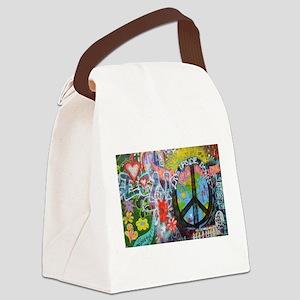 Graffiti in Prague Canvas Lunch Bag