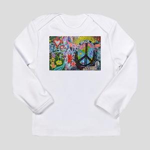 Graffiti in Prague Long Sleeve T-Shirt