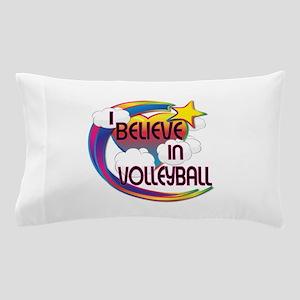 I Believe In Volleyball Cute Believer Design Pillo