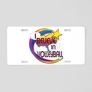 I Believe In Volleyball Cute Believer Design Alumi