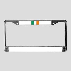 Flag of Ireland License Plate Frame