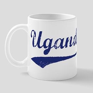 Blue Vintage: Uganda Mug