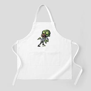 Scary cartoon zombie Apron
