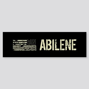 Black Flag: Abilene Sticker (Bumper)