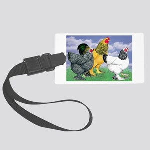 Three Brahmas Luggage Tag