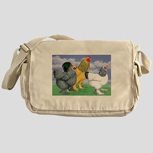 Three Brahmas Messenger Bag