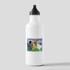 Three Brahmas Water Bottle