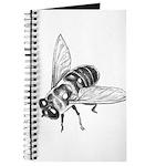 Flowers & Honey Bee Art Journal