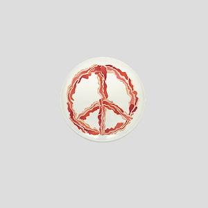 Peace of Bacon Mini Button