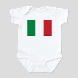 Flag of Italy Infant Bodysuit