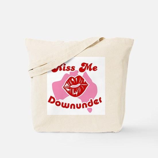 Kiss Me Downunder Tote Bag