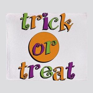 Trick or Treat 2 Throw Blanket