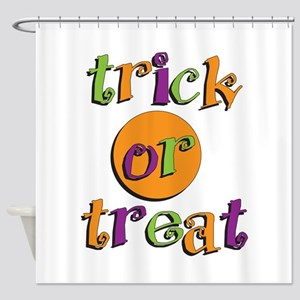 Trick or Treat 2 Shower Curtain