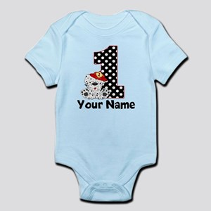 1st Birthday Fireman Body Suit