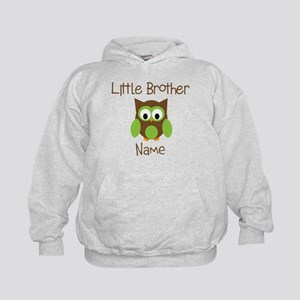 Personalized Little Brother Kids Hoodie