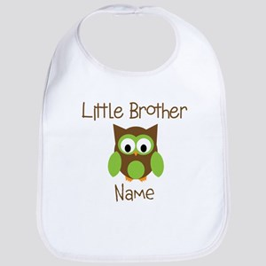 Personalized Little Brother Bib