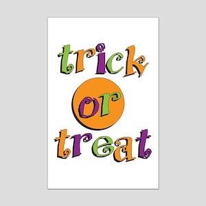 Trick or Treat 2 Mini Poster Print