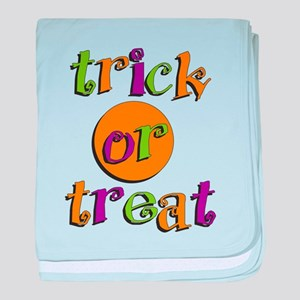 Trick or Treat 2 baby blanket