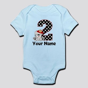 2nd Birthday Dalmatian Body Suit