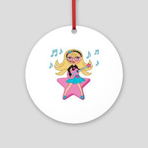 She's Rockin It Ornament (Round)