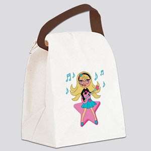 She's Rockin It Canvas Lunch Bag