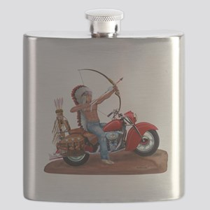 INDIAN FOREVER Flask