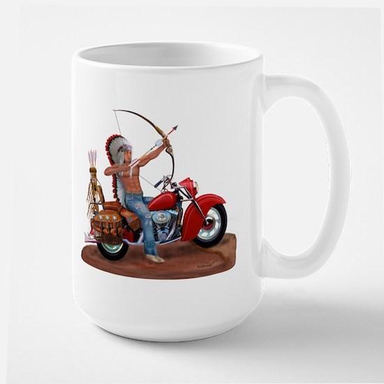 INDIAN FOREVER Large Mug