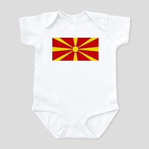 Flag of Macedonia Infant Bodysuit