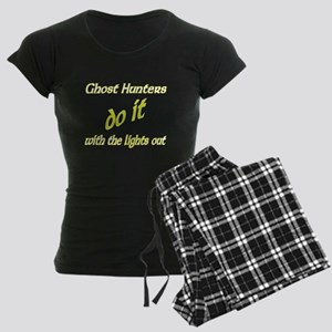Ghost Hunters Do It Lights Out Women's Dark Pajama