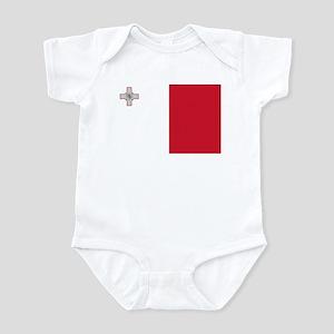 Flag of Malta Infant Bodysuit