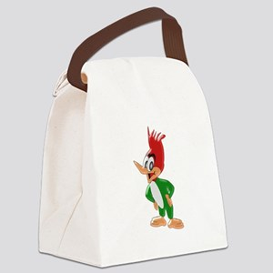 Woodpecker Canvas Lunch Bag