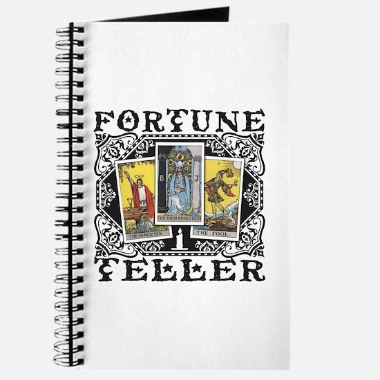 Fortune Teller black Journal
