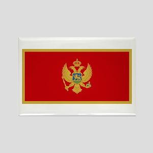 Flag of Montenegro Rectangle Magnet