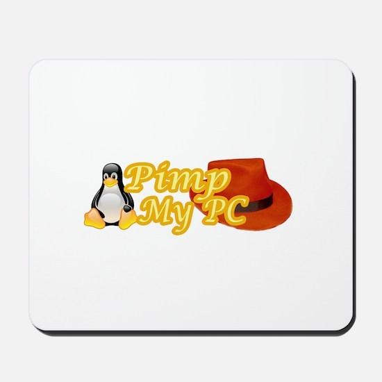 Linux Pimp Mousepad