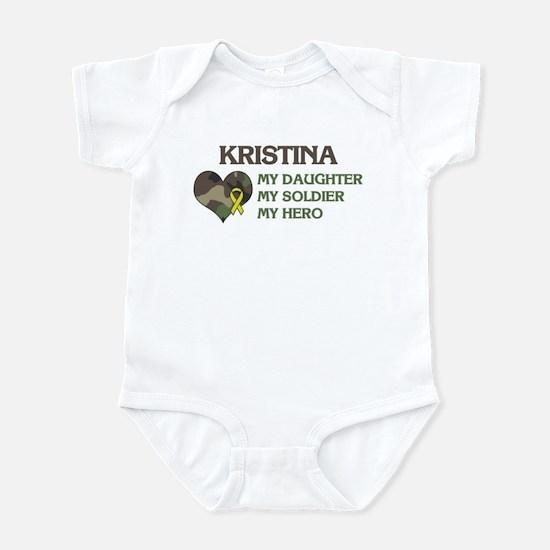 Kristina: My Hero Infant Bodysuit