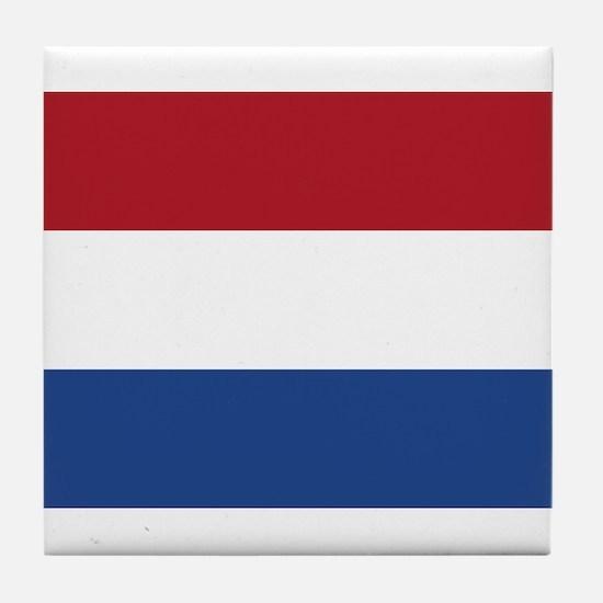 Flag of the Netherlands Tile Coaster