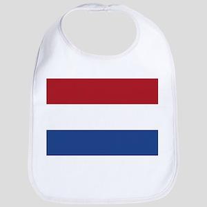 Flag of the Netherlands Bib
