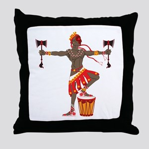 Chango Throw Pillow