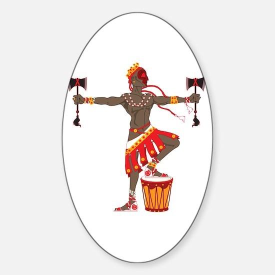 Chango Sticker (Oval)
