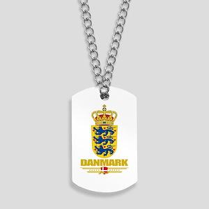 Denmark COA(Flag 10) Dog Tags