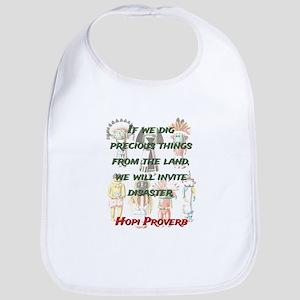 If We Dig Precious Things - Hopi Proverb Cotton Ba