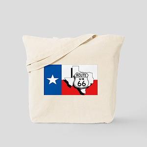 Rt 66 Texas Tote Bag