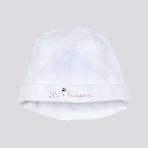 La Principessa Crown baby hat